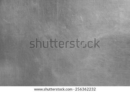 real aluminum plate texture - stock photo