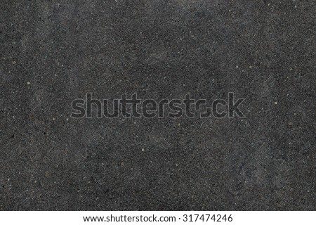 Real asphalt texture background. Coloured dark black asphalt pattern. Grainy street detail gray textured background. Best way show your design or illustration with this actual asphault photo texture. - stock photo