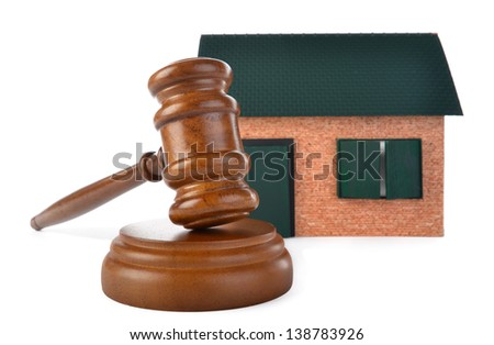 Real Estate Auction - stock photo