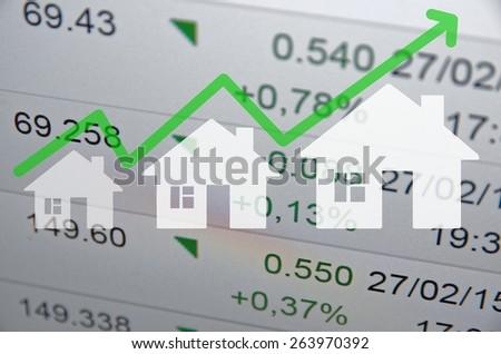 Real estate. Financial concept. - stock photo