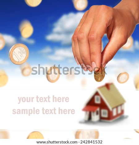 Real estate investment - stock photo