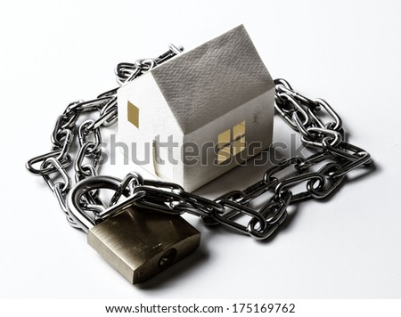 Real estate value - stock photo