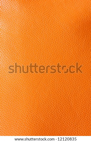 Real leather texture made from cow skin