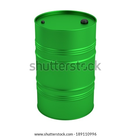 realistic 3d render of barrel
