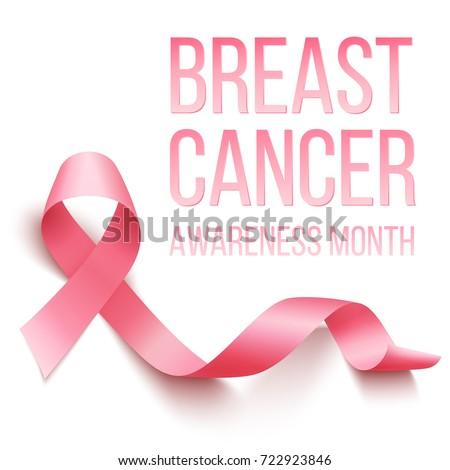 Awareness symbol of breast