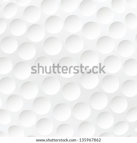 realistic rendition of golf ball texture closeup. - stock photo