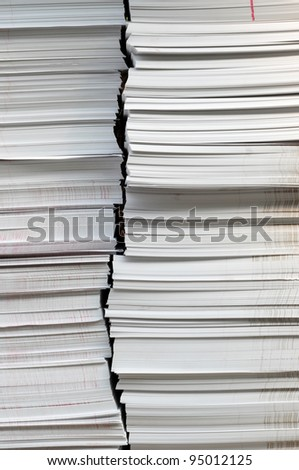 Ream of paper - stock photo