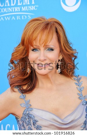 Reba McEntire at the 45th Academy of Country Music Awards Arrivals, MGM Grand Garden Arena, Las Vegas, NV. 04-18-10
