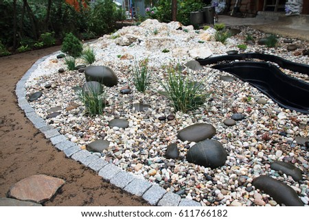 Pond stock images royalty free images vectors for Garden pond insert