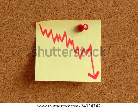 Recession! - stock photo