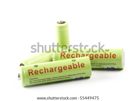 Rechargeable Battery - stock photo