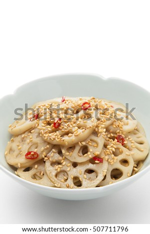 Reckon no Kinpira, Spicy sauteed lotus root