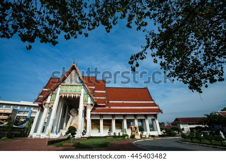 reclining Buddha in Thailand. Reclining Buddha in Thailand - stock photo