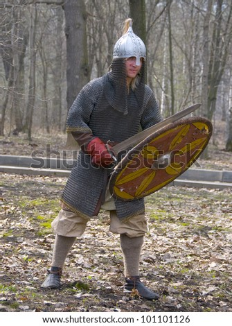 Reconstruction of the 11th century Novgorod vigilantes
