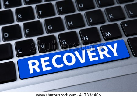 RECOVERY (Recovery Backup Restoration Data) a message on keyboard