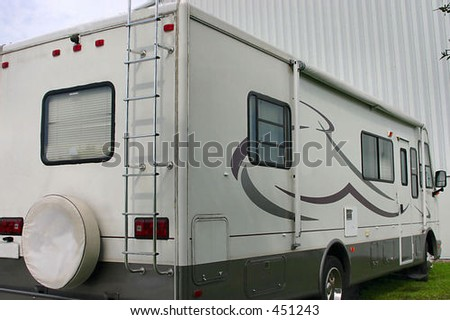 Recreational Vehicle aka RV - stock photo