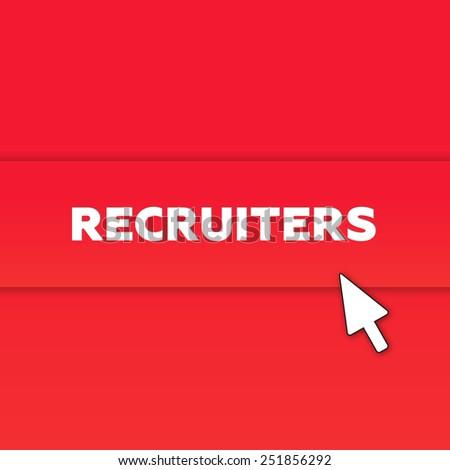 RECRUITERS - stock photo