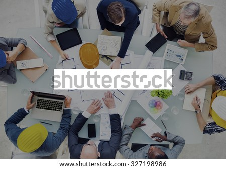 Rectangle Copy Space Bar Blank Rectangular Concept - stock photo