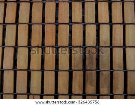Rectangle wood pieces texture