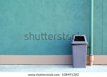 Recycle bin - stock photo