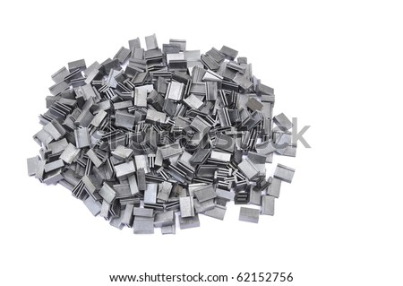 Recycle plastic chip - stock photo