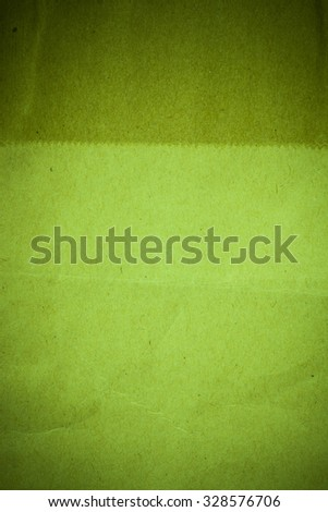 Recycled green paper background.