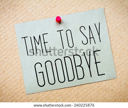 Goodbye Stock Images, Royalty-Free Images & Vectors | Shutterstock