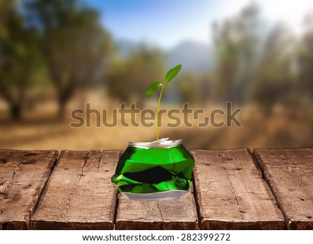 Recycling, Recycling Symbol, Garbage. - stock photo