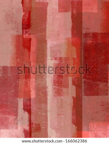Red Abstract Art - stock photo