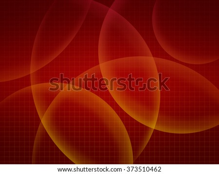 Red abstract background with grid - stock photo