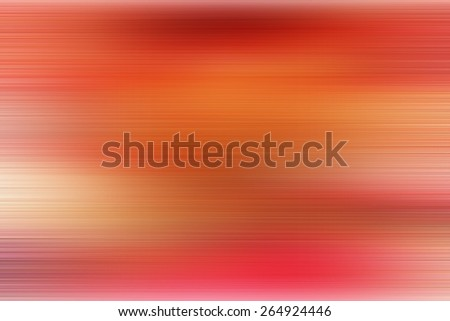 red abstract background with horizontal lines for nature and technology, speed motion blur - stock photo