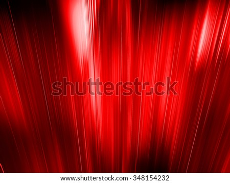red abstract background with light rays