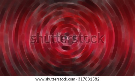 Red abstract technology circle movement