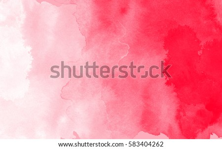 Red And White Abstract Watercolor Background Wallpaper