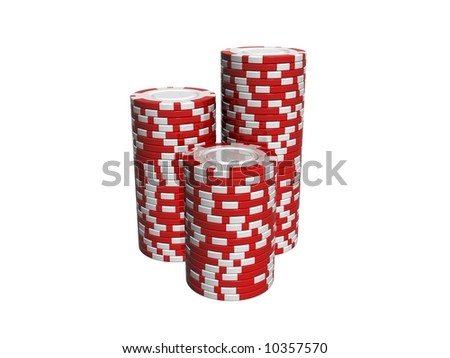 red and white chips