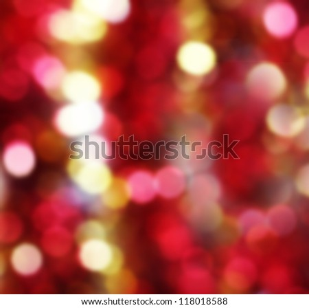 red and yellow holiday background