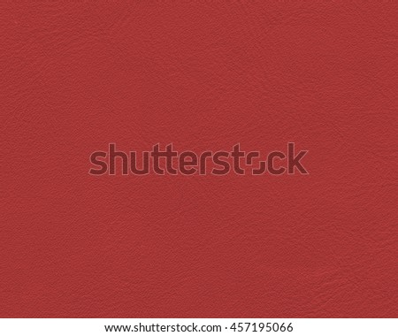 red artificial leather texture closeup.