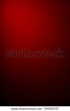 red background in the photographic studio - stock photo