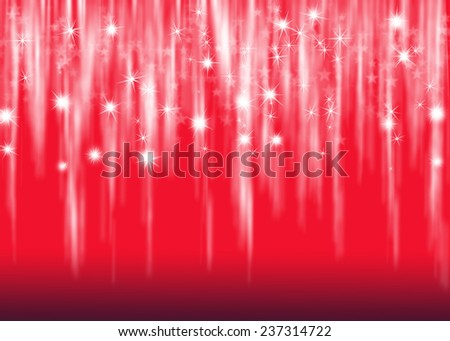 Red beautiful Christmas background. - stock photo
