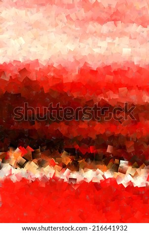 Red Black and White Abstract 3 - stock photo