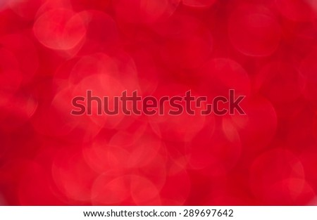 red bokeh background - stock photo