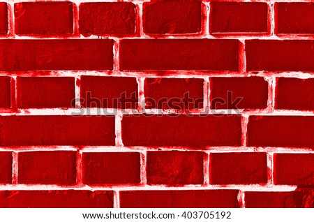 Red brick wall as urban background