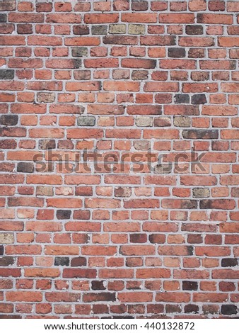 red brick wall tile pattern