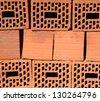 Red Bricks / Group of Bricks - stock photo