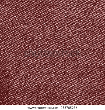 red-brown  textile texture. Useful as background  - stock photo