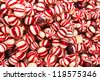 Red / Candy /  background - stock photo