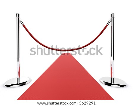 red carpet barrier