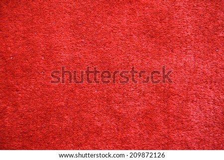 Red carpet texture - stock photo
