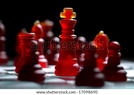red chess