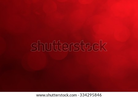Red christmas background, Blurred love background, Colorful of blurred nature with red christmas background - stock photo